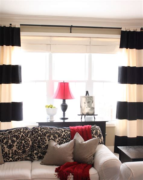 black and white living room curtains living room how to spice up the room with black and white
