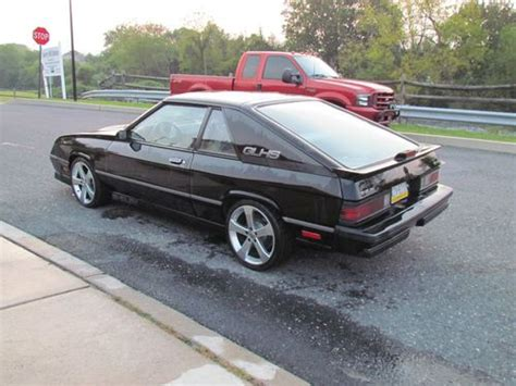 1987 dodge shelby charger find used 1987 dodge shelby charger glhs in northton