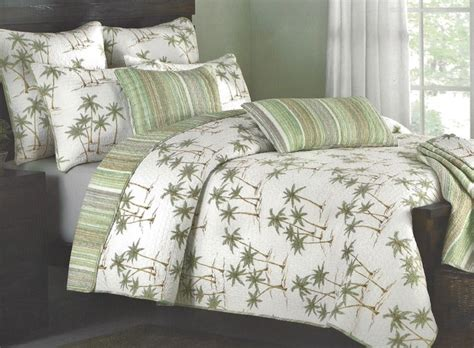 Palm Tree Quilts by Palm Tree Quilt Set Quilts And Quilt Sets By