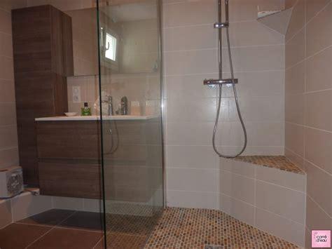 modele de salle de bain avec douche italienne et baignoire