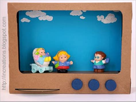 How To Make A Paper Tv - inna s creations make a tv set from a cereal box