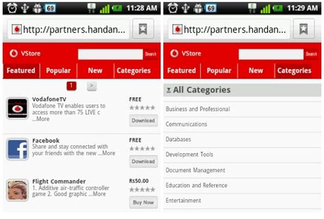 vodafone live homepage mobile vodafone launches mobile application store in india