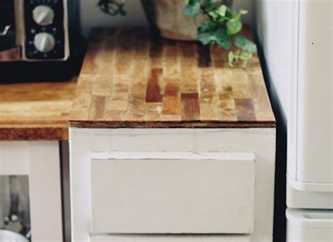Build Kitchen Countertop by Diy Paint Stirrer Kitchen Counters Scrap Wood Projects