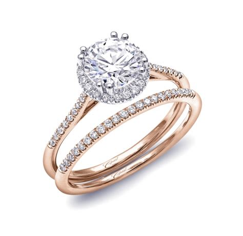 Wedding Bands Gold Coast by Engagement Ring Lc5403rg Gold Collection Coast