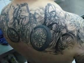 Counter tattoo biker tattoos