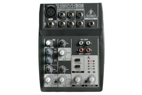 Mixer Xenyx 502 behringer xenyx 502 pa non powered mixers mixers geluid muziekhuis da capo