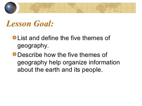 5 themes of geography summary 5 themes of geography