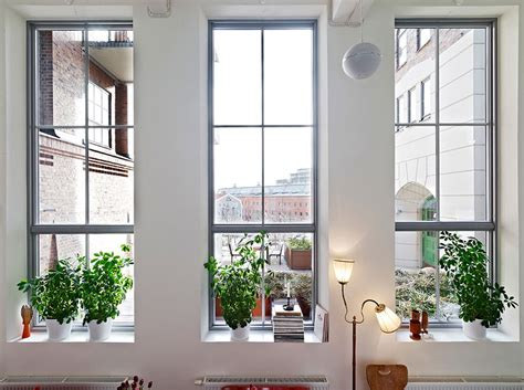 Houses With Big Windows Decor Como Decorar As Janelas Do Apartamento Apartamentos Modernos