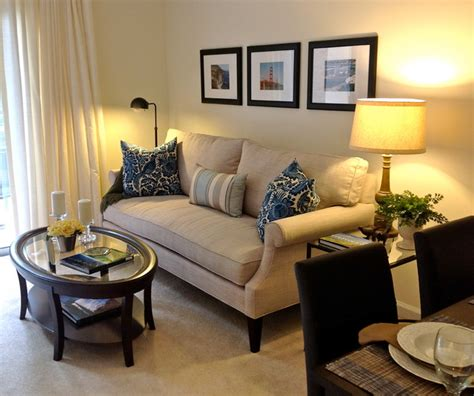 Ideas To Decorate Living Room Apartment by Small Apartment Living Living Room Raleigh By Burkhart Interiors