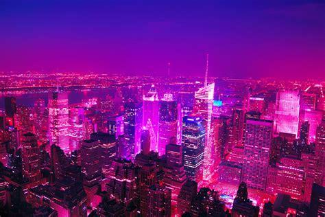 911 Lights Memorial by Vasily Klyukin Colorizes New York In Pink For Barbiehattan