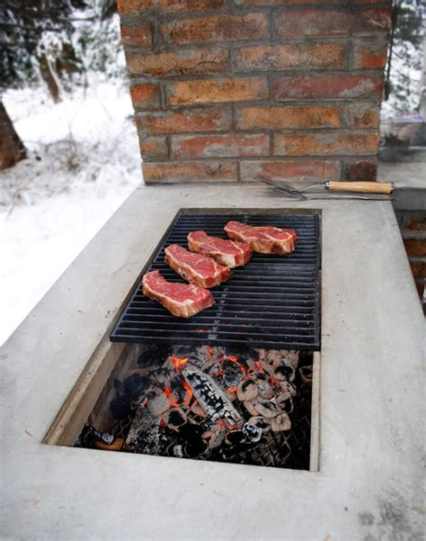 barbecue smoker grill contemporary outdoor grills