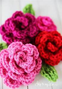 Free Easy Flower Crochet Patterns - pics photos free easy crochet flower pattern