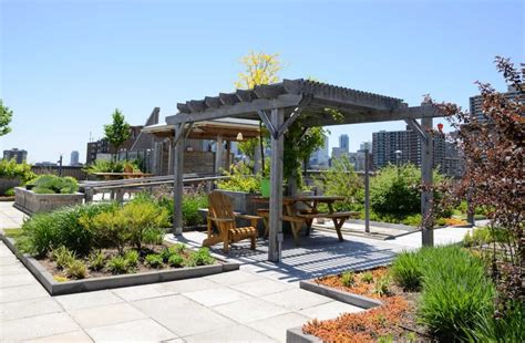 rooftop landscaping outdoor spaces in the inner city rooftop gardens erielifemagazine