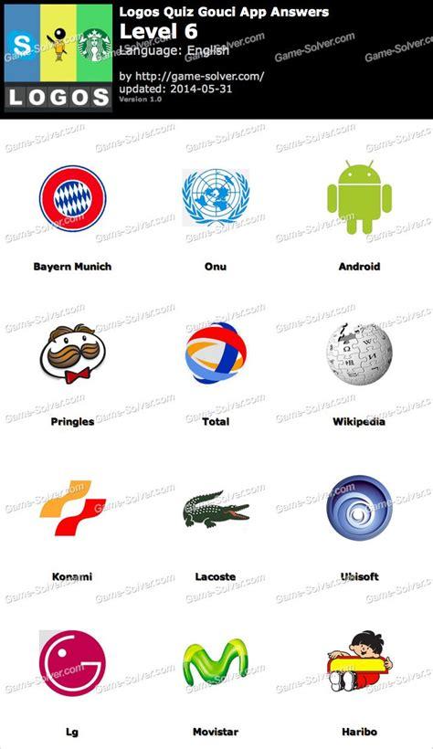 logo game answers lg logos quiz gouci app level 6 game solver