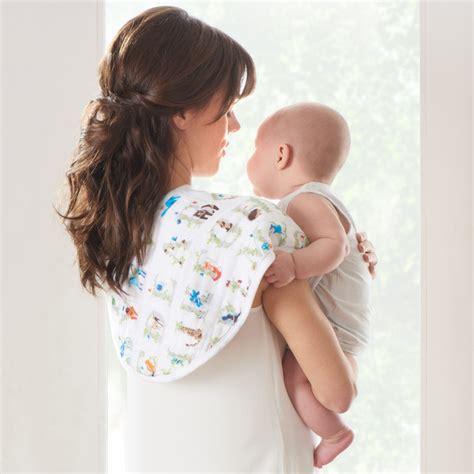 Ideal Baby Single Muslin Burpy Bib Cherub Alas Tidur Bayi aden anais baby paper tales cotton muslin burpy bibs pack of 2 childrensalon