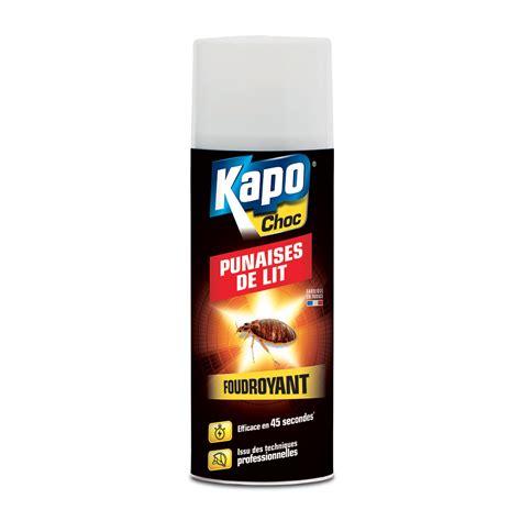 kapo punaises de lit a 233 rosol foudroyant sp 233 cial punaises de lit insecticides kapo