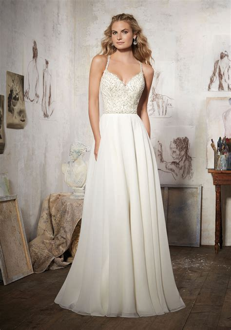 Style Wedding Gowns by Maelani Wedding Dress Style 8106 Morilee
