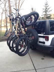 Bike Racks For Jeeps Transporting Bikes In A Jeep Mtbr