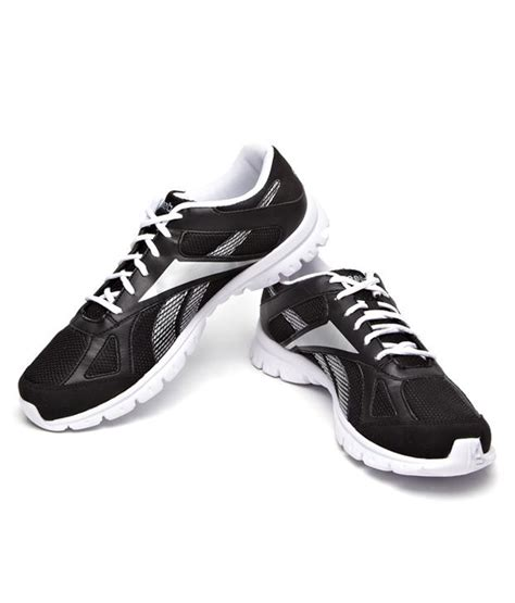 reebok comfort shoes buy reebok comfortable black running shoes for men