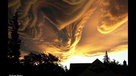strange cloud formation youtube