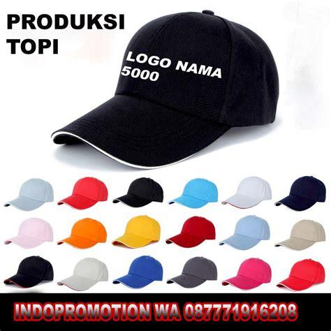 Topi Polos Grosir jual topi polos grosir dan eceran herry souvenir promosi
