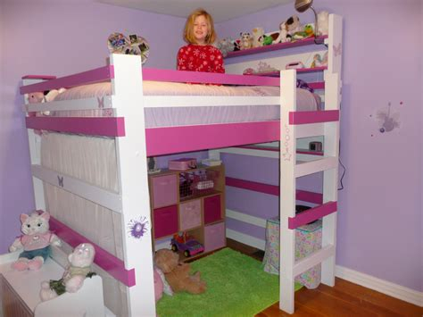 kids loft bed comfortable loft beds for kids ideas eva furniture