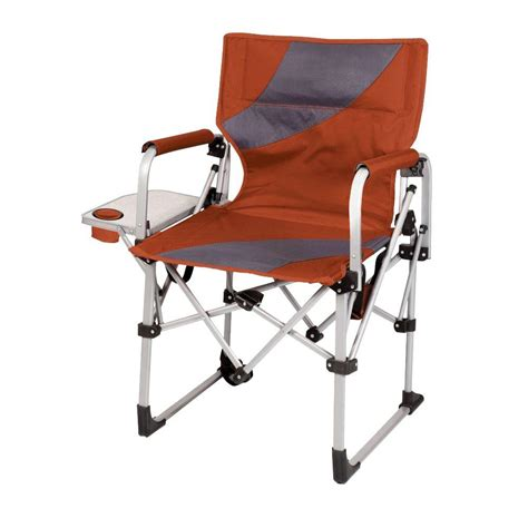 orange folding garden chairs picnic time burnt orange meta portable folding all in one