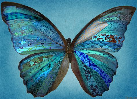 Patchwork Butterfly Pattern - patchwork butterfly by llewcie on deviantart