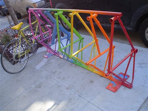 A Rack Of by The Coolest Bike Racks Made