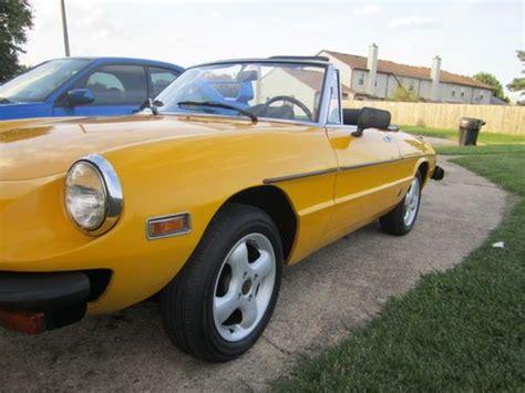 purchase used 1978 alfa romeo spider veloce 2000 in
