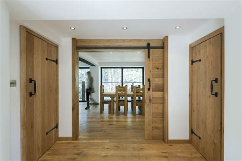 Interior Timber Doors Enchanting Water Mill In Corwen Wales Adorned With Rustic Elements Freshome