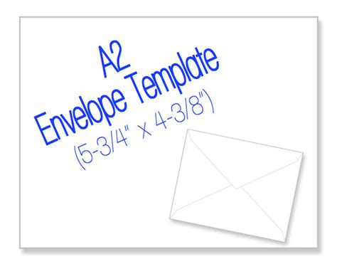 a7 card template a2 envelope 5 3 4 x 4 3 8 blank by heritageexpressions on etsy