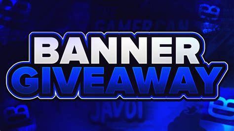 Art Giveaway - custom youtube banner giveaway channel art giveaway free channel art banner