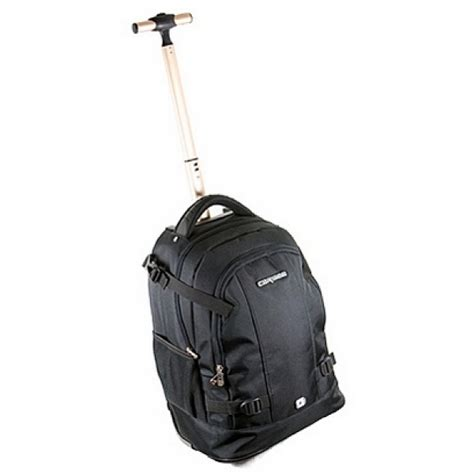 wheeled rucksack cabin baggage caribee scout 19 quot cabin size luggage wheeled backpack