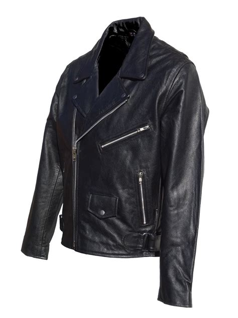 mens leather motorcycle jackets jts brando mens leather motorcycle jacket free uk