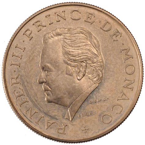 57619 monaco rainier iii 10 francs sup 10 francs