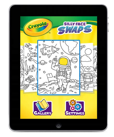 crayola coloring pages app griffin and crayola launch silly face swaps hd coloring