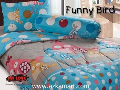 Sprei My Bird Sprei Bed Cover My Single 2 Terbaru Grosir
