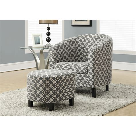 grey chair with ottoman grey accent chair with ottoman hawthorne ave chairs with