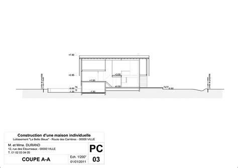 terrasse 40m2 permis construire exemple permis de construire mod 232 le permis de construire