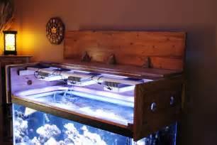 Aquarium Canopies by Building A Aquarium Canopy Reef Aquarium