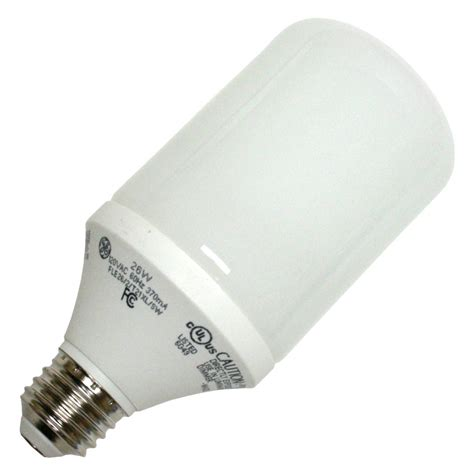 ge light bulbs ge 89636 fle26 2 t21xl bullet base compact