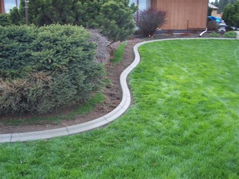 What Is Edging In Landscaping by Landscape Concrete Edging Installation Bistrodre Porch