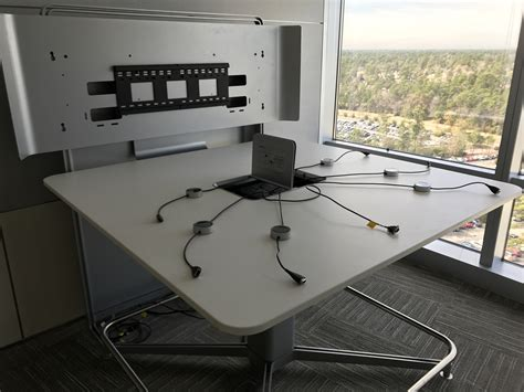 steelcase mediascape collaboration table office