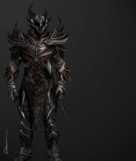 skyrim daedric armor and weapons daedric armor skyrim by blueraven90 deviantart com on