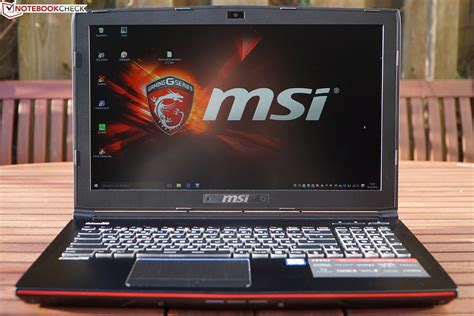 Msi Ge 62 Qe msi ge62 6qd apache pro notebook review notebookcheck net reviews