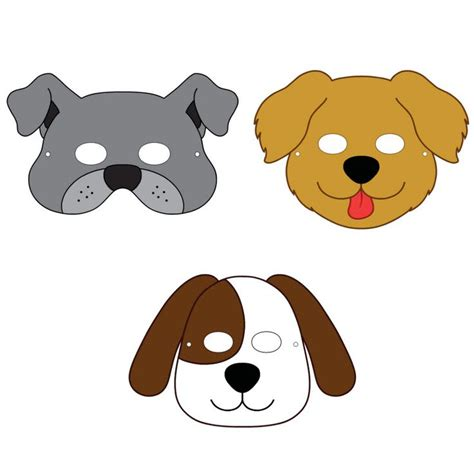 printable puppy mask the 25 best ideas about dog mask on pinterest animal