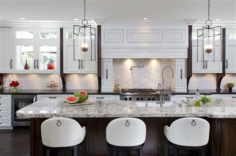 stylish kitchen design 25 stunning transitional kitchen design ideas