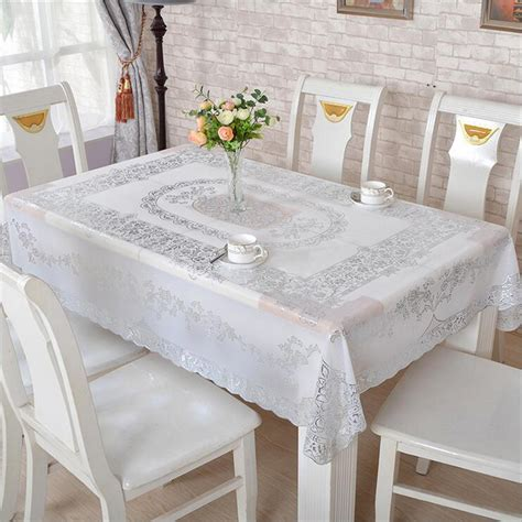 waterproof pvc protector for table pvc waterproof dining table cloth coffee table cover desk