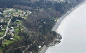 Whidbey Island landslide: Thirty homes threatened as